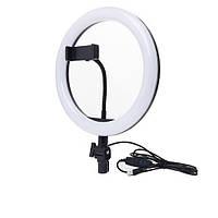 Комплект блогера 2в1  cветодиодное селфи кольцо Ring Fill Light 20 см
