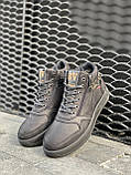 Мужские ботинки кожаные зимние черные Belvas 19157, фото 2