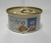 Профайн Кэт, индейка + рис, 70гр, консервы для кошек