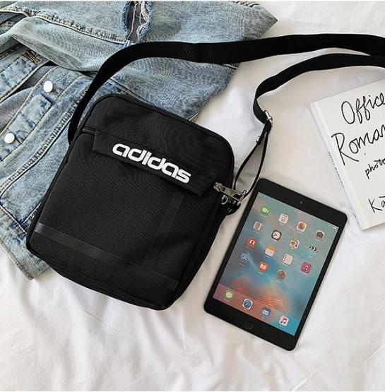 Мужская сумка мессенджер Adidas. Сумка через плечо/планшетник/барсетка