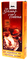 Фільтр-пакет чаю L 100шт.