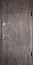 Двері Оптіма 87 малий. 145А спіл дерева коньяч R