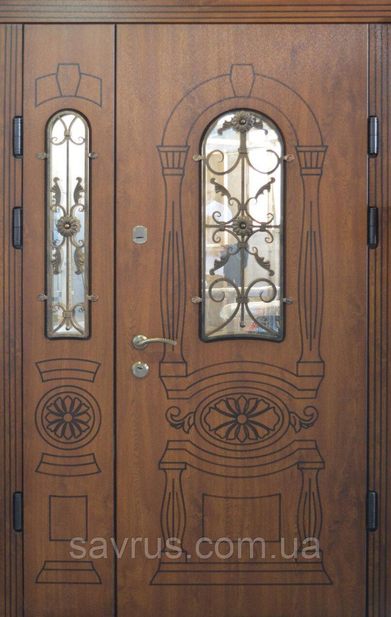 Двері АКЦІЙНІ 117  Г2 ПВХ-90 L (лиштва + ручка)