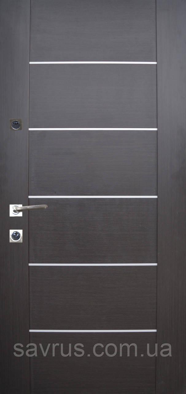 Двері  PRESTIGE лакобель 87   №20-33  венге темний  L