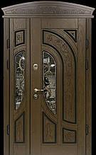 Двері АКЦІЙНІ 117 №133АС R дуб золотий полімер + карниз