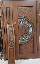 Двері АКЦІЙНІ 117 №135АС R дуб золотий полімер + карниз