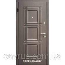 Двері Оптіма 97 малий. 147А венге темний R (лиштва + ручка)