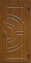 Двері Оптіма 97 малий. 126 (2017) дуб золотий L (лиштва + ручка)