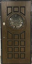 Двері CLASSIC 87 №20-63 полімер зод.дуб R