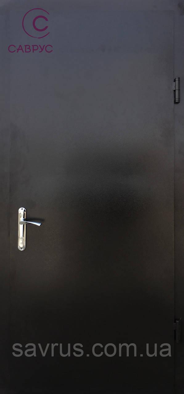 Двері ТЕХНІЧНІ 0,87 (гнута рама-72 мм) L + ручка