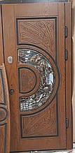 Двері АКЦІЙНІ 97 №135АС R дуб золотий полім (лиштва + ручка)