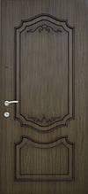 Двері Оптіма 87 малий. 164(2016) дуб золотий патина + R втоплена