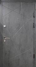 Двері Оптіма 97 малий. 119 А бетон темний R