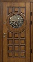 Двері Оптіма 97 малий.139АС ПВХ-90 R (лиштва + ручка)