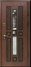 Двері АКЦІЙНІ PRESTIGE 97 №20-52 полімер дуб темний L(лиштва + ручка)