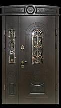 Двері АКЦІЙНІ 117 №137АС R дуб золотий полімер + карниз