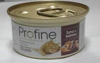 Профайн Кэт, тунец + лосось, 70гр, консервы для кошек