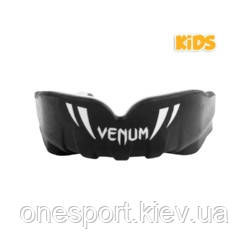Капа детская VENUM Challenger Kids Mouthguard подростковый чёрный/белый (код 179-549834)