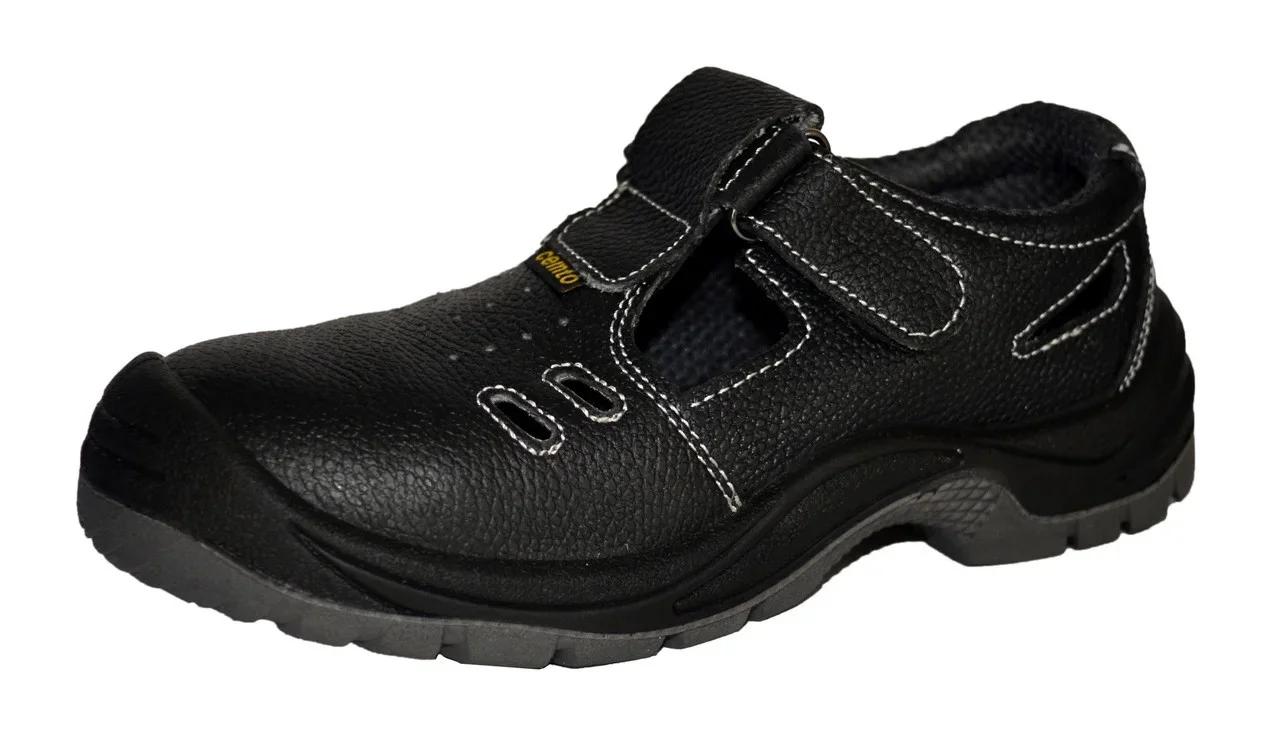 """Сандалии рабочие, 41 р., с металлическим носком, полуботинки Cemto """"PROFI-SM"""" (арт. 1341)"""