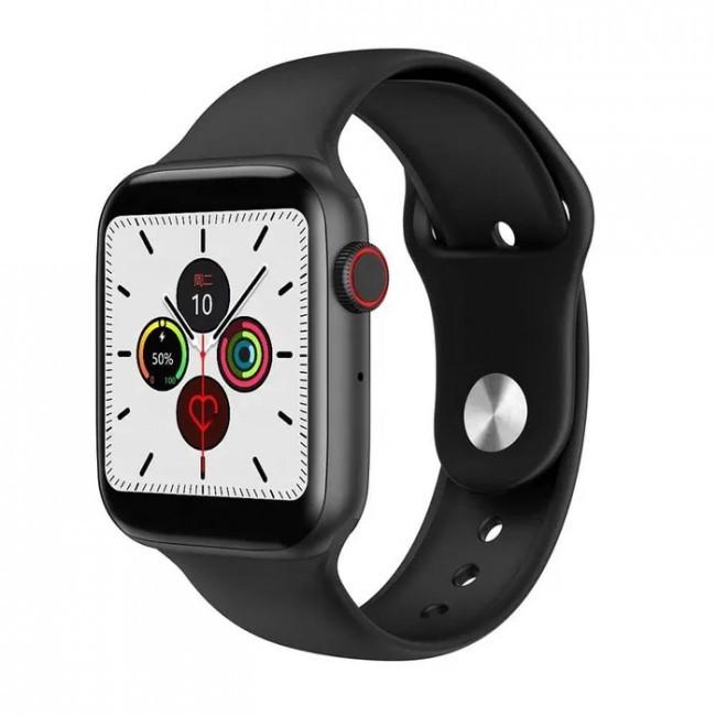 Умные Смарт Часы Smart Watch W34, (Чёрный)
