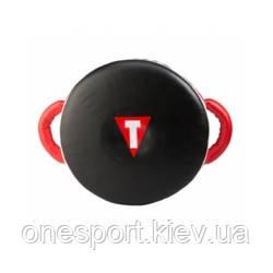Макивара боксерская TITLE Zero Impact Wheel Shield чёрный/красный + сертификат на 200 грн в подарок (код