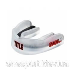 Капа TITLE GEL Max Channel Mouthguard взрослый чёрный (код 179-587056)
