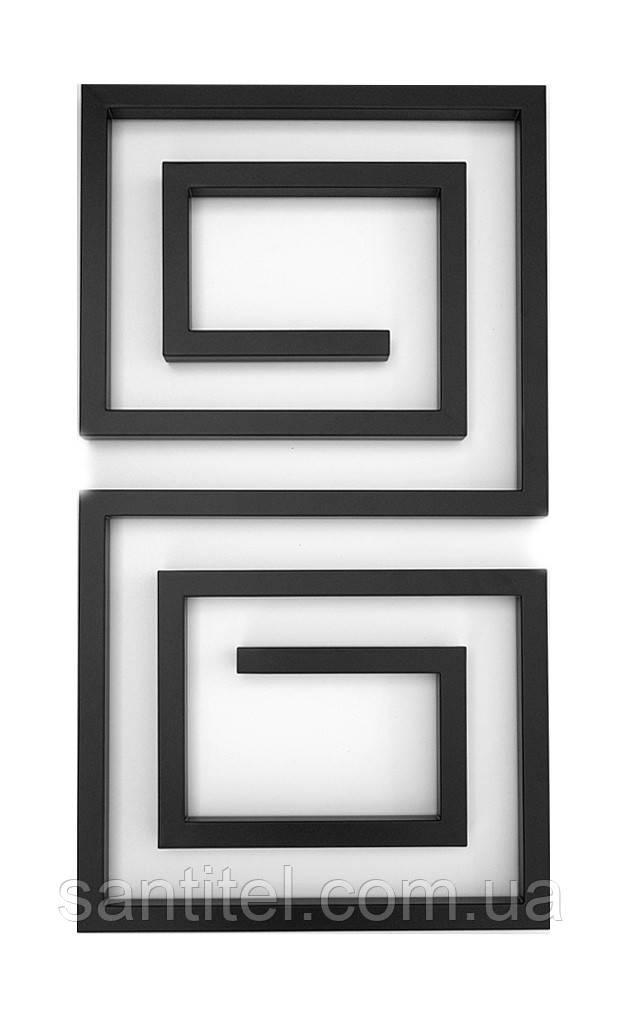 Полотенцесушитель Genesis-Aqua Labyrinth 80x53 см