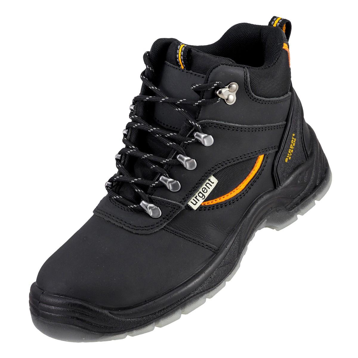 Взуття Trzewiki 120 S3 TPU з металевим носком та антипрокольной підошвою URGENT (POLAND)
