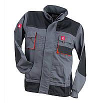Куртка робоча URG-A виконана з поліестеру і бавовни, чорно-помаранчевого кольору. Urgent (POLAND)