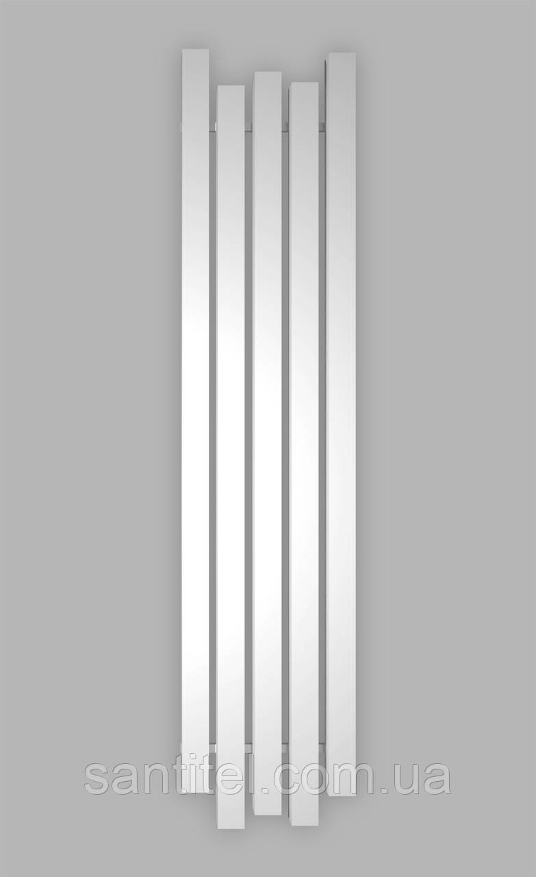 Радиатор отопления Genesis-Aqua Bassa 160x45 см, белый