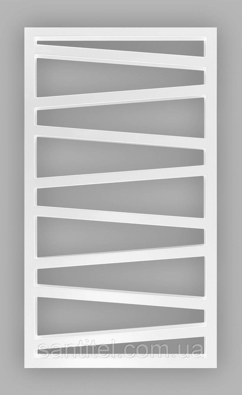 Полотенцесушитель Genesis-Aqua Genesis 100x53 см, білий