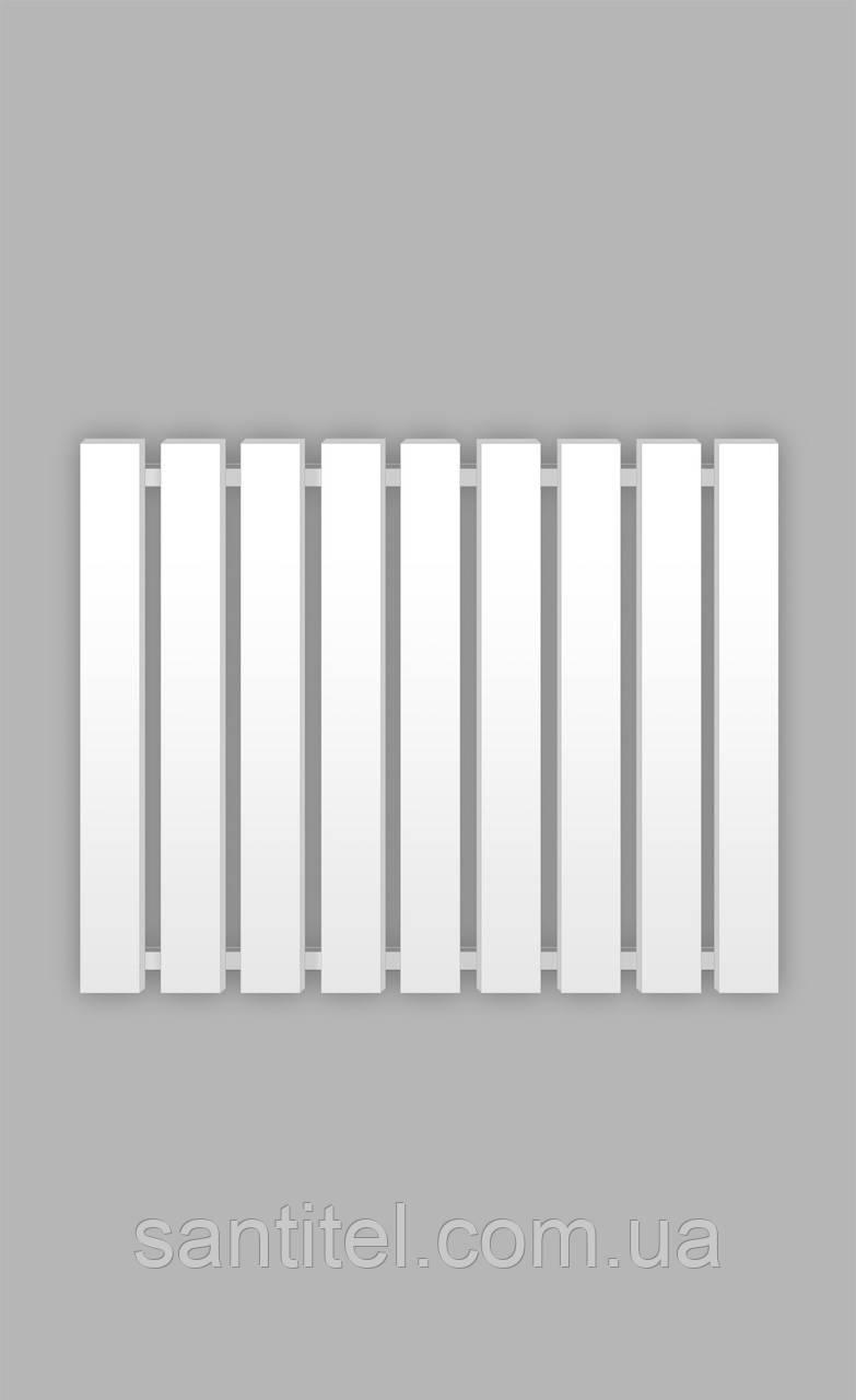 Полотенцесушитель Genesis-Aqua Batteria 80x60 см, білий