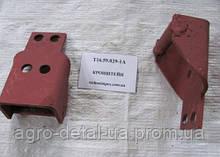Кронштейн с осью Т16.59.029-1А крепления кузова (платформы) передний трактора Т16,Т 16 М,Т 16 МГ,С