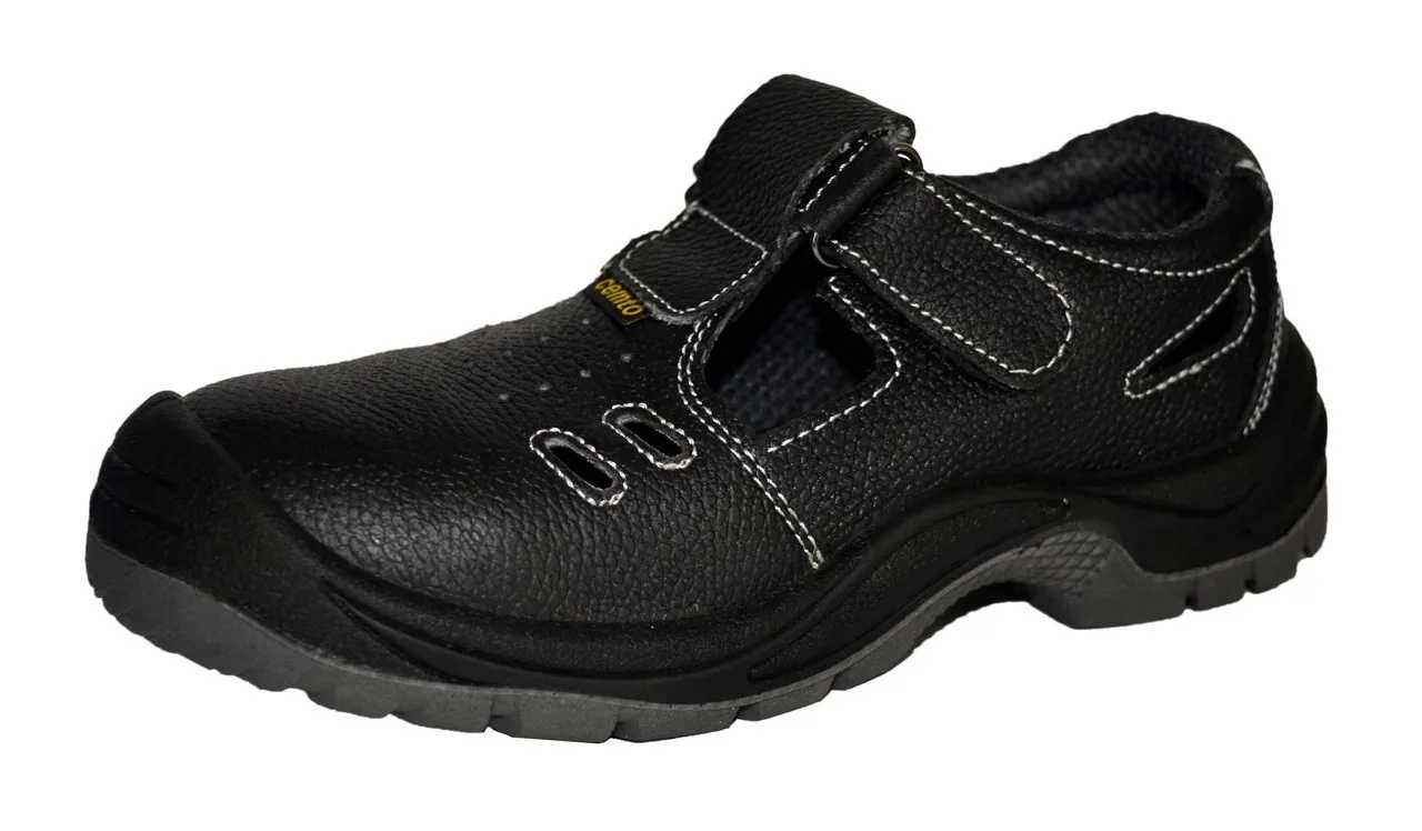 """Сандалии рабочие, 46 р., с металлическим носком, полуботинки Cemto """"PROFI-SM"""" (арт. 1346)"""