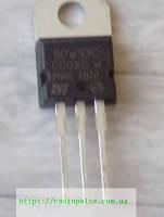 Транзистор BDW93C (n-p-n 100V,12A,80W,составной) , TO220 ( 2N6488 )