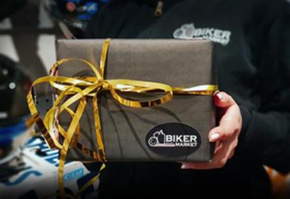 Подарочная упаковка товаров в BIKERMARKET
