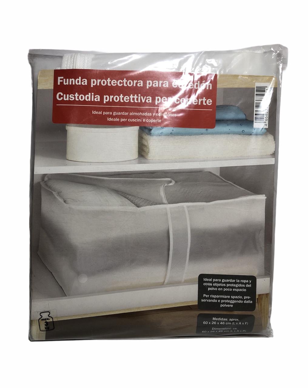 Захисний чохол для ковдр, подушок та одягу VIVESS 60 x 26 x 46 см