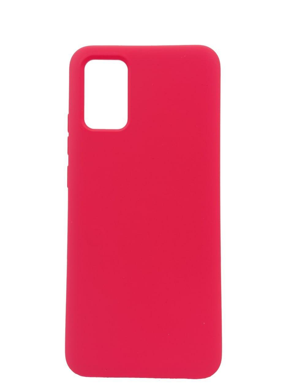 Чехол Soft Touch для Samsung A02S (A025) (№3 Малиновый)