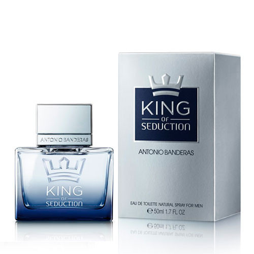 Antonio Banderas King of Seduction for Men туалетная вода мужская 50 ml
