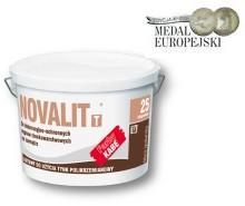 Полисиликатная слабощелочная штукатурка Novalit.