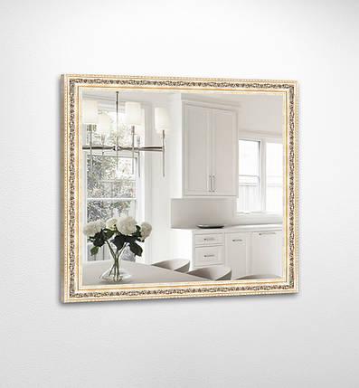 Настенное зеркало БЦ Стол Джулия квадратное B02 золотое, фото 2