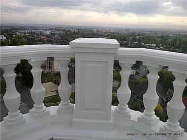 Балясины Кременчуг | Балюстрада бетонная на террасе высотки