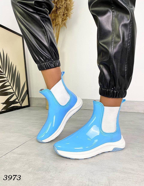 Женские Модные резиновые ботиночки для непогоды