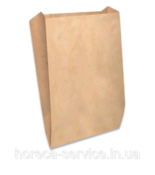 """Пакет бумажный """"Саше"""" 380х220х60 крафт 100 шт."""