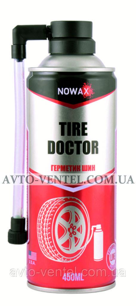 Герметик шин NOWAX TIRE DOCTOR, 450ml.