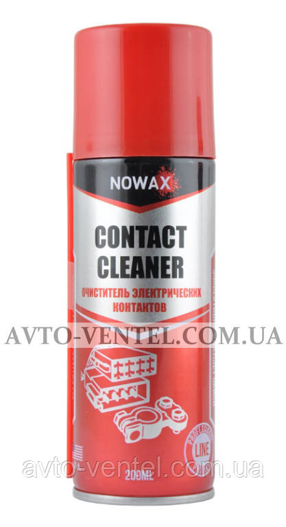 Очиститель электрических контактов NOWAX CONTACT CLEANER, 200ml.