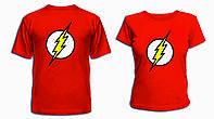 """Парные футболки """"Flash"""", фото 1"""