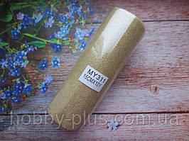 Фатин-сетка с мелкими блестками, ширина 15 см, (цвет на фото), 1 рулон, 10 ярдов