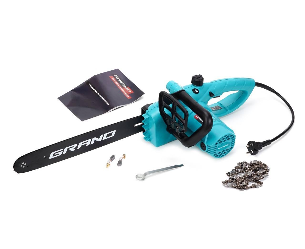 Электропила GRAND ПЦ-2100 (1 Шина, 1 Цепь)