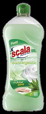 Средство для мытья посуды c Алое вера Scala 750 ml